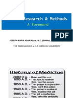 Introduction to Health Research