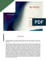 Arvind Limited Presentation_Final