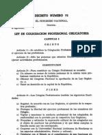 decreto 73-1962