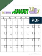 Calendar Aug
