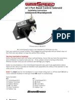 Boost Control Solenoid MazdaSpeed