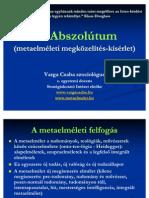 Az Abszolútum pps - Varga Csaba