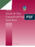 Evaluacion Del Programa de Salud Bucal