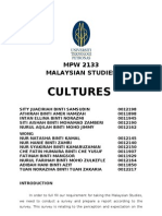 Culture Report