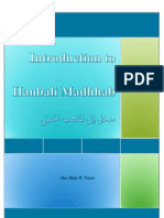 Introduction to Hanbali Madhhab