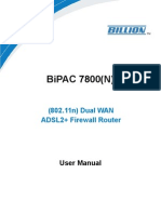 BiPAC 7800(N) FW1.02b User Manual