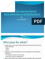 A Guide to the New Incoterms 2010
