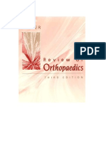 Miller's Review of Orthopedics - 3rd Ed