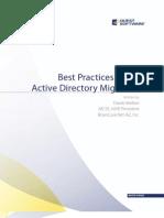 BestPracticesForAnActiveDirectoryMigration_QuestSoftware