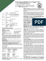 Bulletin 210811