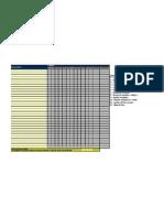 Desenho Tecnico- lista de presença