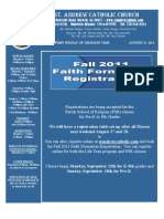 August 21, 2011 Bulletin