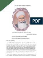 Sant Baba Attar Singh Ji Mastuana Wale