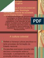 A Sociologia No Brasil