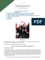 Educacion Actual Peru