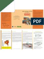 Folder de modelo trecnologico e de gestão para manejo de residuos solidos
