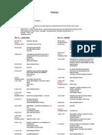 programa V congresso