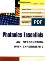 Photonics Essentials an Introduction With Experiments 2003