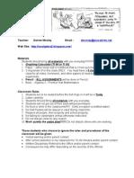 Syllabus Algebra II 11