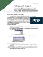 Excel Lectia 4 Vederi, Scenarii Si Rapoarte