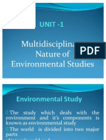 Evs Multid.nature of Evs