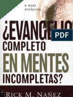 EVANGELIO COMPLETO EN MENTES INCOMPLETAS-Rick M. Nañez