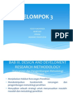 Design and Develop Research Meth