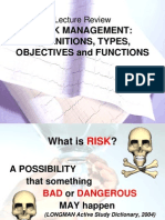 Introduction to Hospital Risk Management