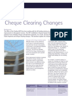 NW Cheque Clearing Factsheet