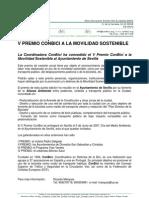 Nota de Prensa Concesion Premio CONBICI