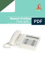 Manuel 4035