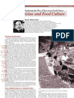 Korean Cuisine and Food Culture