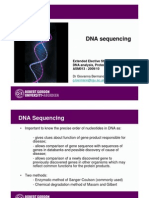 DNA Sequencing 2009 10