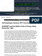 SIGINT and the Battle of the Ia Drang Valley