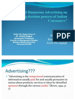 Impact of Humorous Advertising on Buying Decision