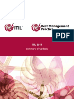 ITIL 2011 Summary of Updates
