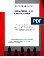 Proposal Cahaya Ramadhan 1432h