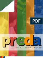PREDA Newsletter