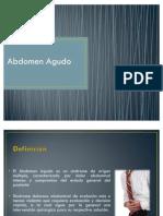 Abdomen Agudo - Eduardo Alvarez