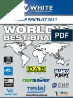 White International Pump Pricelist