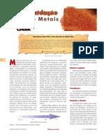 Oxidacao de ferro
