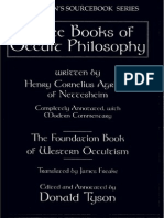 Three Books of Occult Philosophy Llewellyns Sourceboo