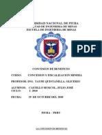 Concesion Beneficio Peru