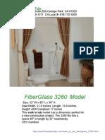 Fiberglass 3260 Walkin Tubs - Comfort Walk in Tubs