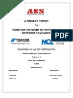 Vivek Lohit Hr a Project Report