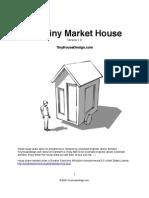 5x8 Tiny Market House Plans