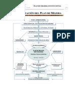 Documento Plan de Mejora Institucional