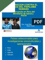 Vacuna Peru Contra HPV
