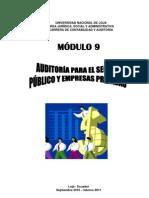 Modulo 9 Auditoria Para El Sector Publico y Empresas Privadas