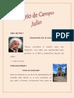 Diario Julio